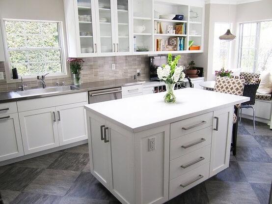 Craftsmen Home Improvements Inc Improve Your Kitchen Bathroom Basement Look With New Tile Flooring Backsplash